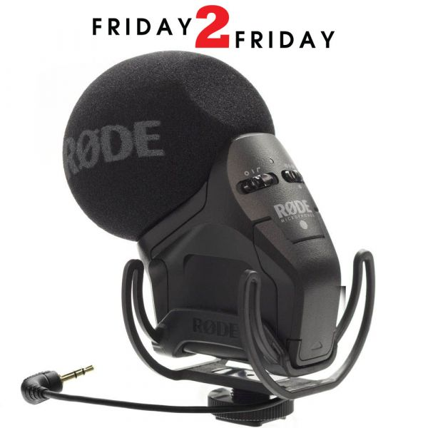 Rode Stereo VideoMic Pro With Rycote Shock Mount