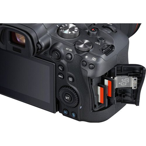 Canon EOS R6 Mirrorless Camera Body (When Bought With Promotion)