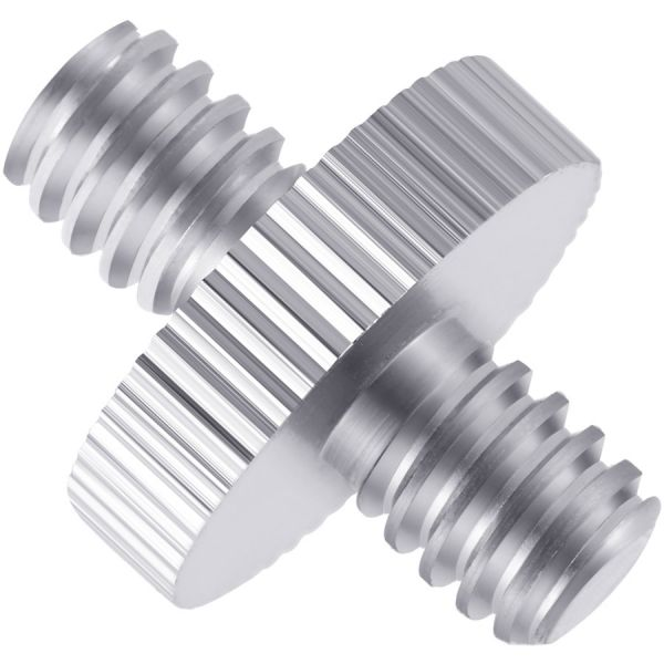 Xtreme Xccessories 1/4 inch Male to Male Threaded Screw Adapter