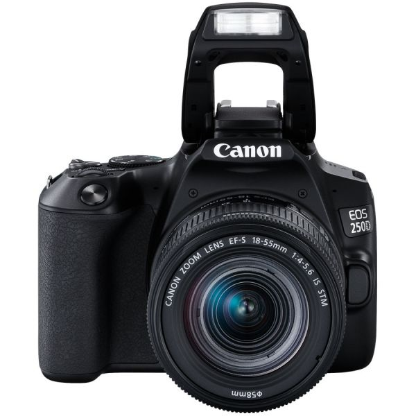 Canon EOS 250D DSLR Camera with EF-S 18-55mm f/4-5.6 IS STM Lens