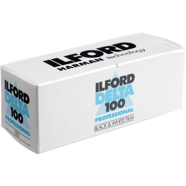 Ilford Delta 100 Professional 120 Format Black & White Film