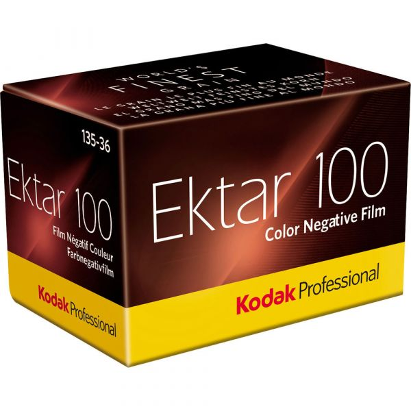 Kodak Professional Ektar 100 Colour Negative 35mm Film (36-Exposure)