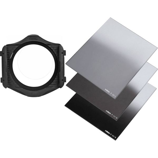 Cokin Graduated Neutral Density Filter Kit (3 Filters and Filter Holder)