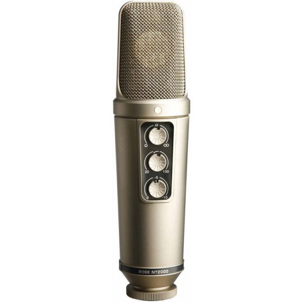 Rode NT2000 Variable Pattern Studio Condenser Microphone
