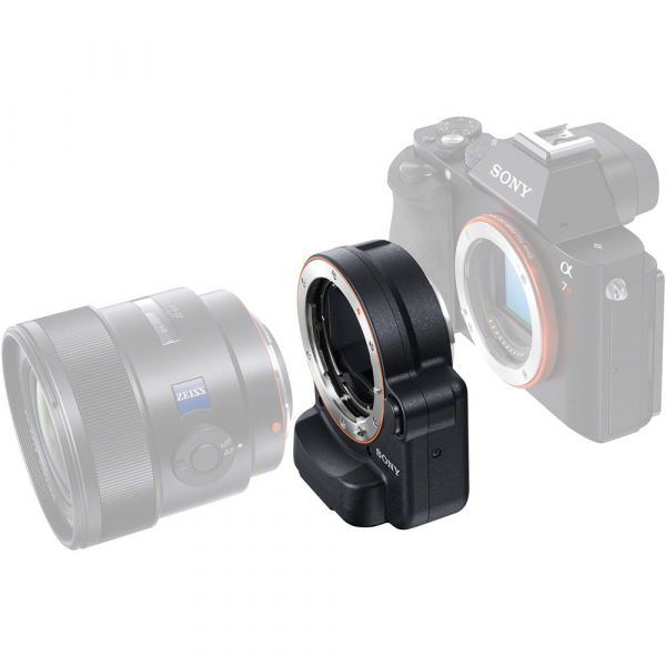 Sony A-Mount to E-Mount Lens Adapter with Translucent Mirror Technology