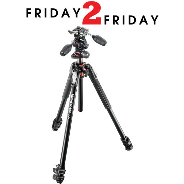 Manfrotto MK190XPRO3-3W Tripod with XPRO 3-Way Head