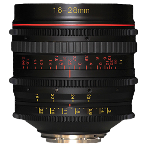 Tokina Cinema ATX 16-28mm T3.0 with EF Mount