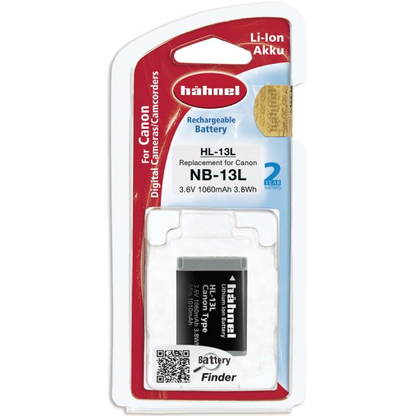 Hahnel HL-13L Lithium Ion Battery for Canon (NB-13L)