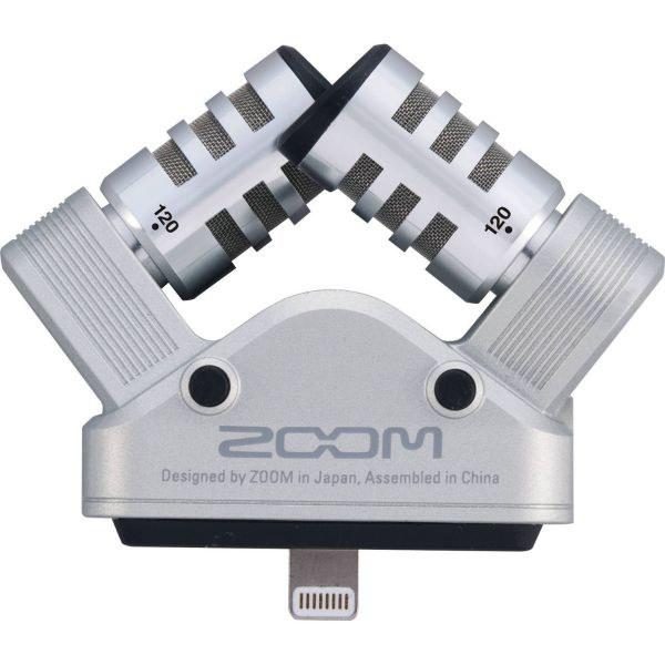 Zoom iQ6 Stereo X/Y Microphone for iOS Devices with Lightning Connector