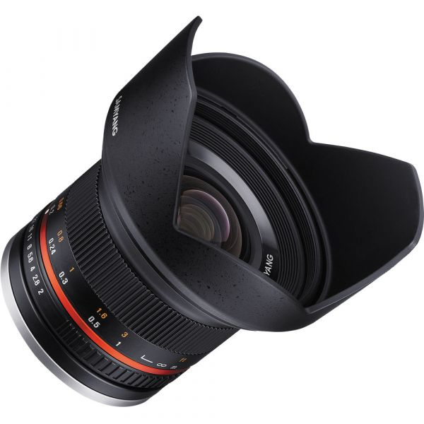 Samyang 12mm f/2 NCS CS Lens (Sony E Mount)
