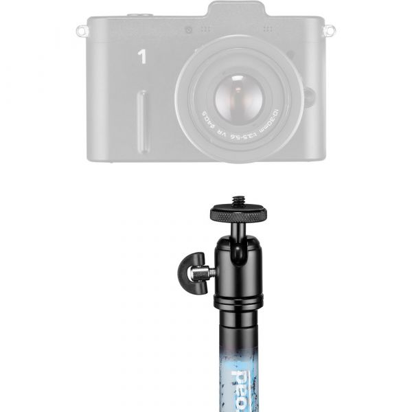 Manfrotto Off Road Pole 58cm Small with GoPro Mount (Blue)