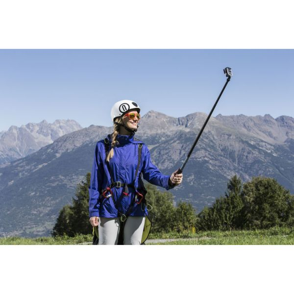 Manfrotto Off Road Pole 88cm Medium with GoPro Mount (Blue)