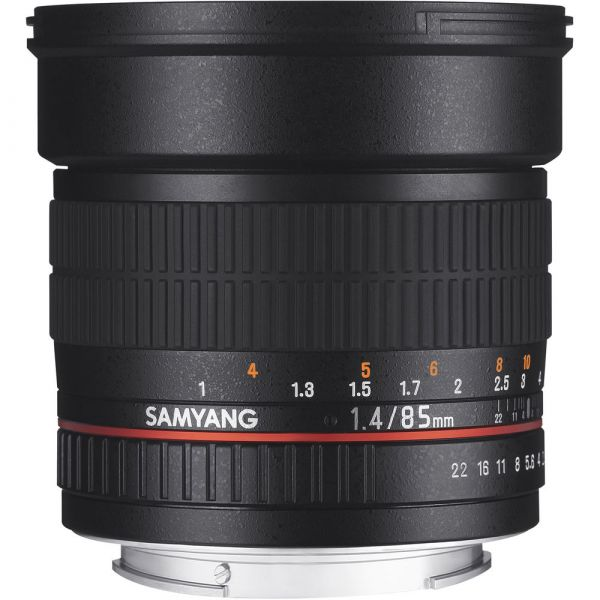 Samyang 85mm F1.4 ED AS IF UMC Lens (Canon)