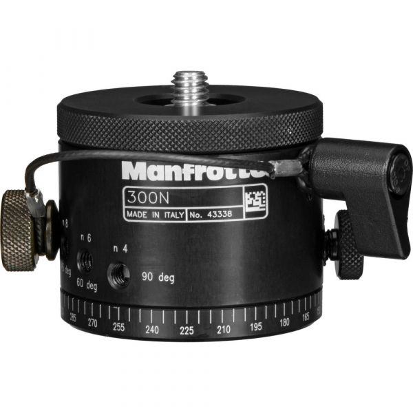 Manfrotto 300N Panoramic Head - Supports 14Kg
