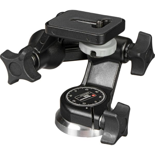 Manfrotto 056 3-Way, Pan-and-Tilt Head with 1/4