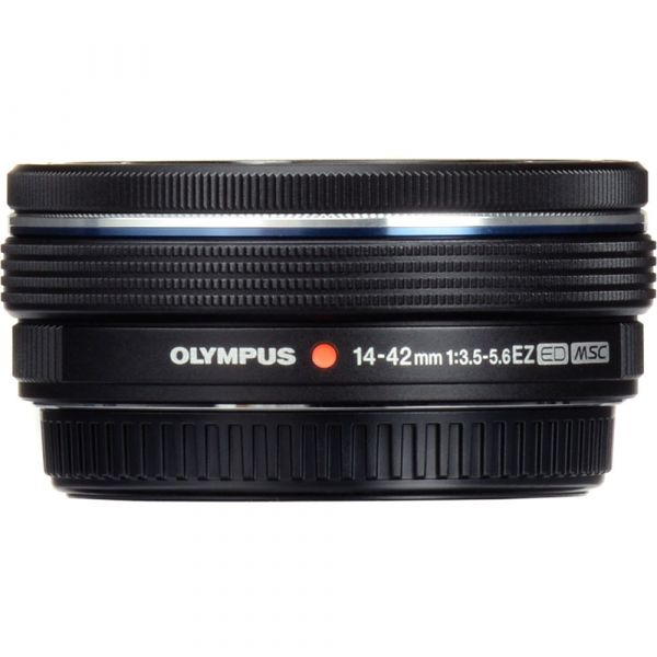 Olympus M.Zuiko Digital ED 14-42mm f/3.5-5.6 EZ Lens (Black) (Online Only. ETA 3-5 Days)