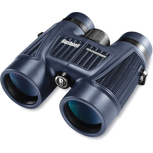 Bushnell 10x42 H2O Roof Binocular with Deluxe Harness