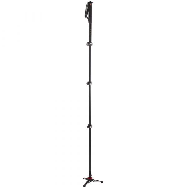 Manfrotto MVMXPROA4 4-Section Video Monopod with Fluidtech Base (Backordered)