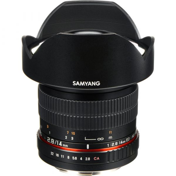 Samyang 14mm f/2.8 IF ED UMC Lens With AE-Chip (Canon)