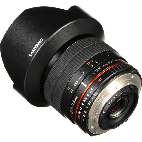 Samyang 14mm f/2.8 IF ED UMC Lens with AE Chip (Nikon)