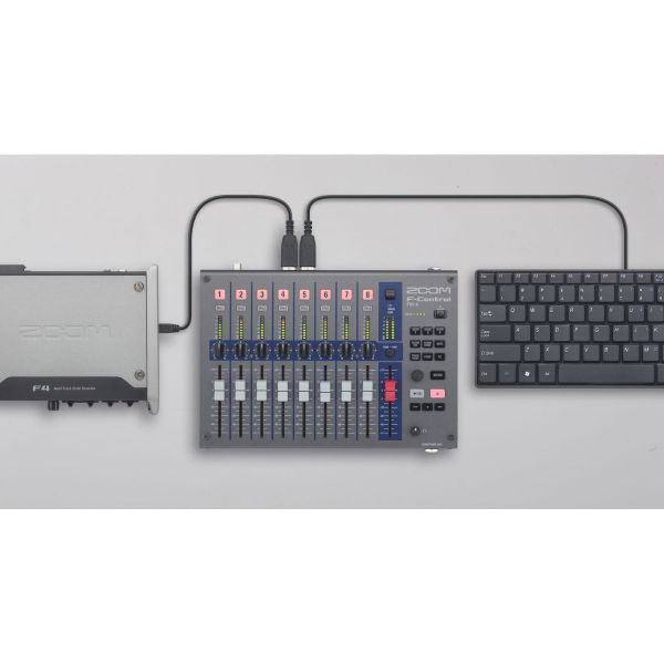 Zoom F-Control for F8 and F4 Multitrack Field Recorders