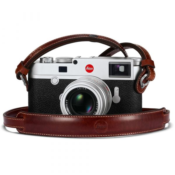 Leica Leather Carrying Strap (Vintage Brown)