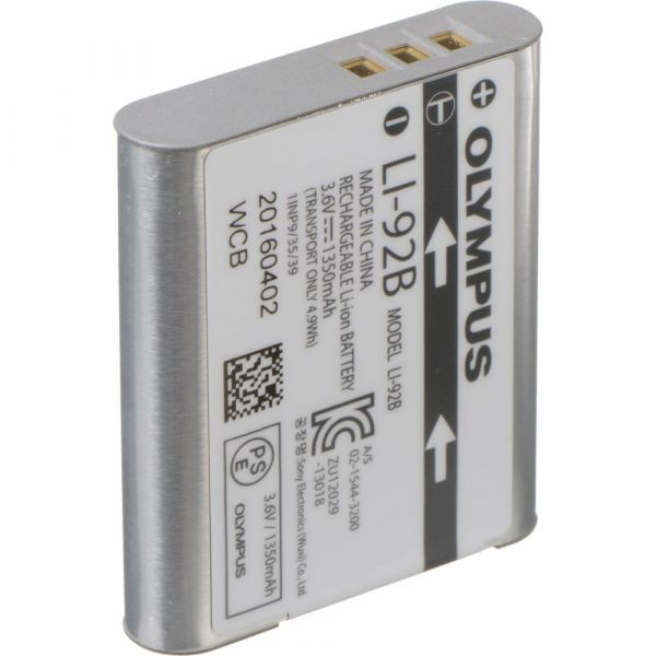 Olympus LI-92B Rechargeable Lithium-Ion Battery For Tough Cameras