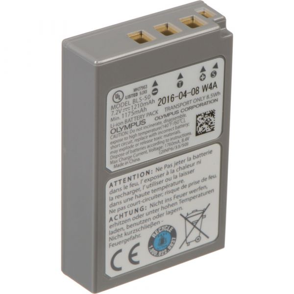 Olympus BLS-50 Lithium-Ion Battery