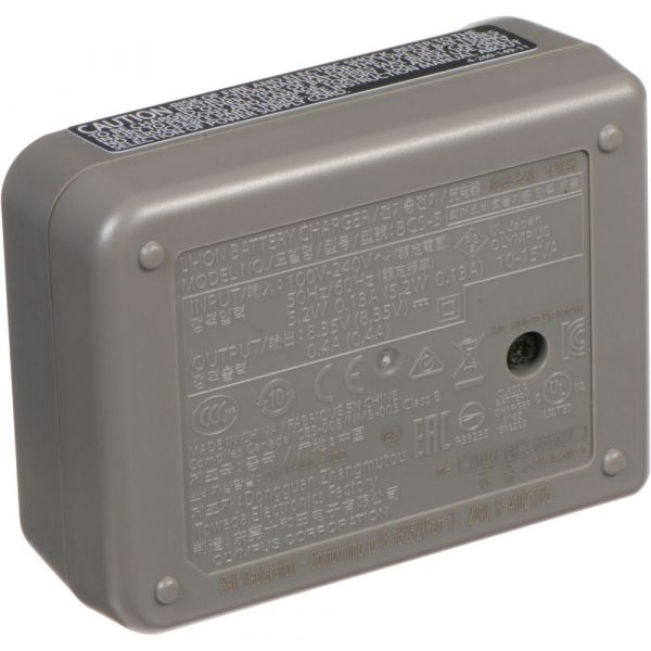 Olympus BCS-5 Battery Charger For BLS‑5/BLS‑50 (Online Only. ETA 3-5 Days)