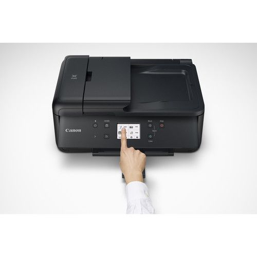 Canon PIXMA TR7540 Wireless Home Office All-in-One Inkjet Printer (Black)