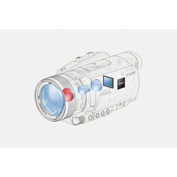 Sony FDR-AX700 4K Video Camcorder (Special Order)