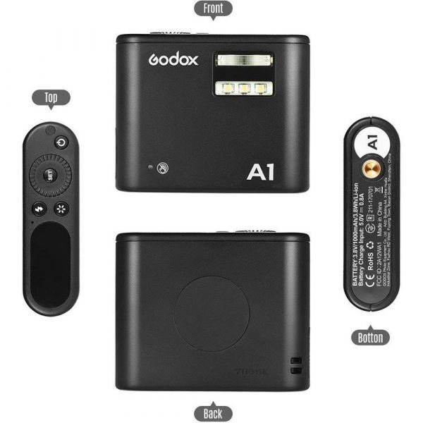Godox A1 Wireless Flash for IOS Smartphones