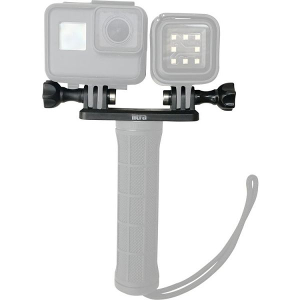 LITRA Double Mount for Torch Light and GoPro Camera