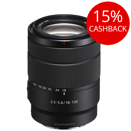Sony E 18-135mm f/3.5-5.6 OSS Lens (E Mount)