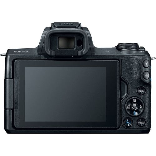 Canon EOS M50 Mirrorless Camera with EF-M 11-22mm Lens and SanDisk 32GB Extreme SD Card
