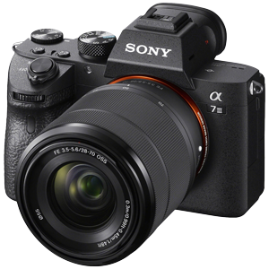 Sony Alpha A7 III Mirrorless Camera with FE 28-70mm F3.5-5.6 OSS Lens