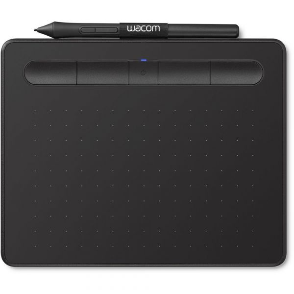Wacom Intuos Bluetooth Creative Pen Tablet (Small, Black)
