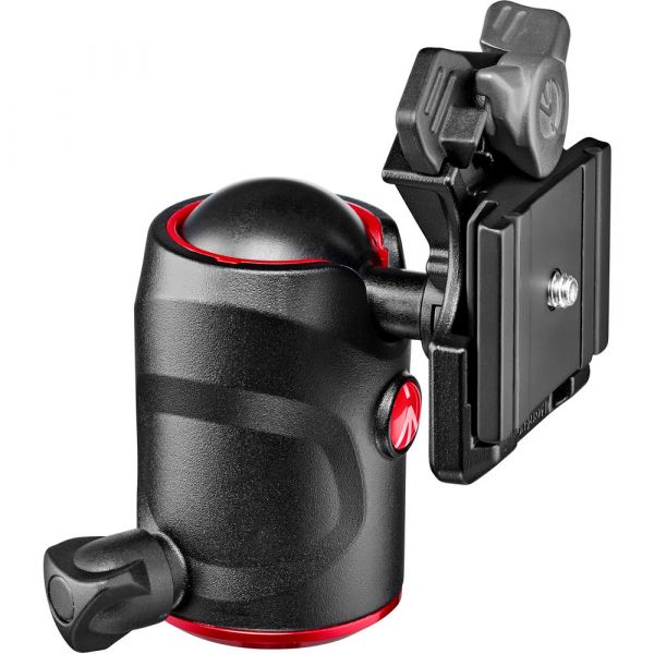 Manfrotto 496 Ball Head with 200PL-PRO Quick Release Plate