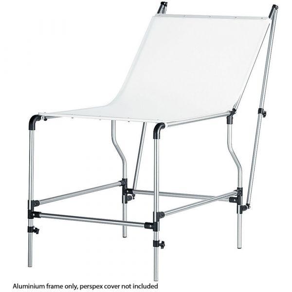 Manfrotto 320PSL Mini Still Life Shooting Table Frame (Silver)