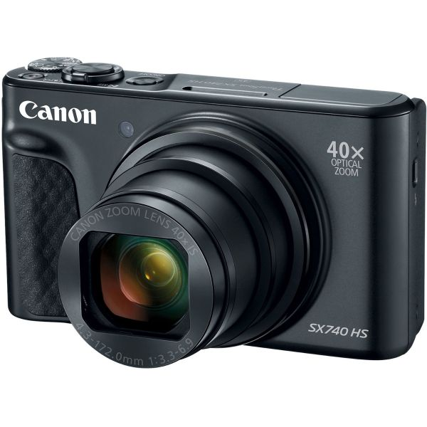 Canon PowerShot SX740 HS Camera (Black)
