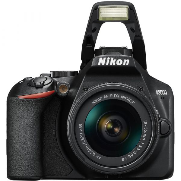 Nikon D3500 DSLR Camera with 18-55mm VR and 70-300mm Lenses