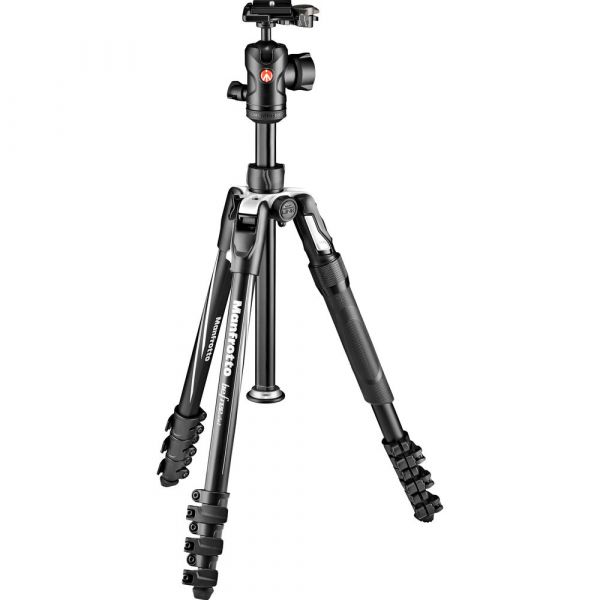 Manfrotto Befree 2N1 Aluminium Tripod with 494 Ball Head (Lever Lock)