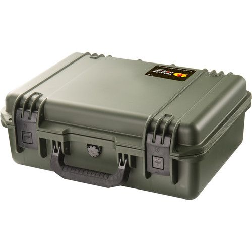 Pelican Storm iM2300 Case (Olive Drab) with Cubed Foam