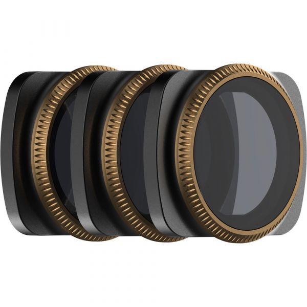 PolarPro Vivid Collection ND/PL Filters for DJI Osmo Pocket Gimbal (Set of 3)