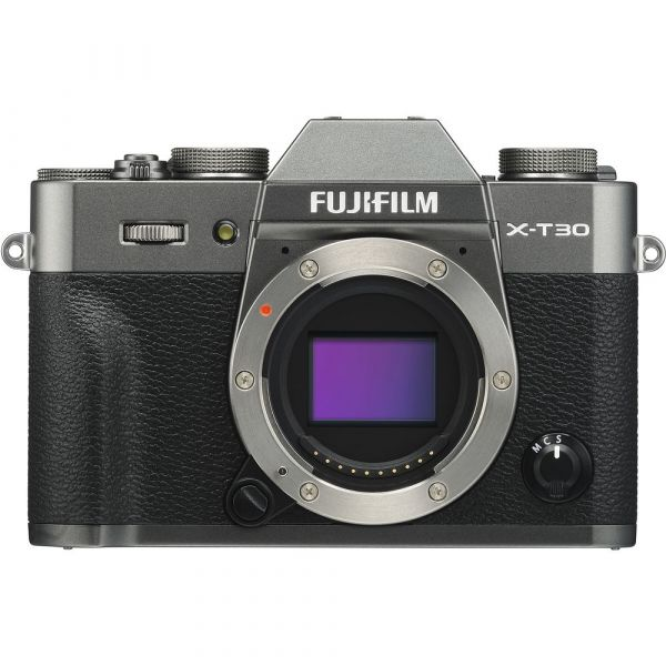 Fujifilm X-T30 Mirrorless Camera Body (Charcoal Silver)