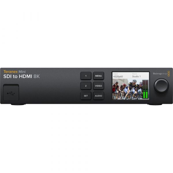 Blackmagic Design Teranex Mini SDI to HDMI 8K Converter and Monitor Solution