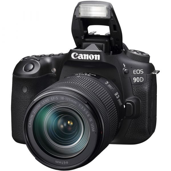 Canon EOS 90D DSLR Camera with 18-135mm f/3.5-5.6 IS USM Lens