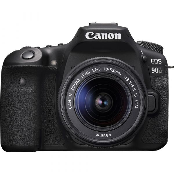 Canon EOS 90D DSLR Camera with 18-55mm f/3.5-5.6 IS STM Lens