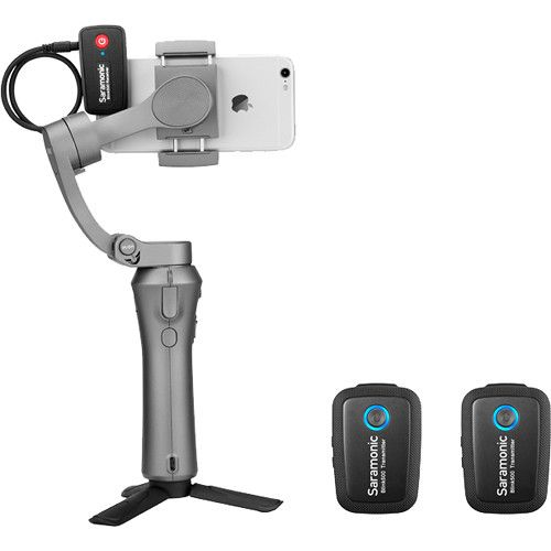 Saramonic Blink 500 B2 2-Person Digital Camera-Mount Wireless Omni Lavalier Microphone System (2.4 GHz)