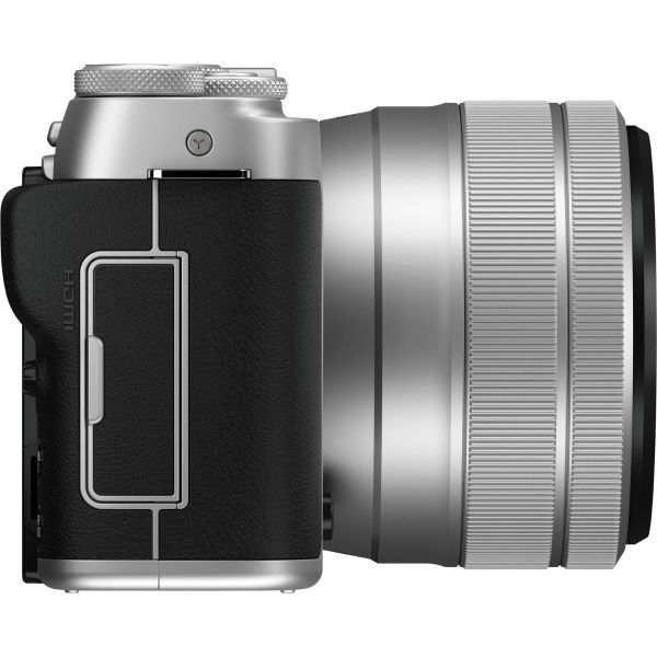Fujifilm X-A7 Mirrorless Camera with 15-45mm Lens (Silver)